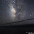Milky Way above Big Sur, California,                                Nikola Nikolov