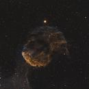 IC443 (Sh2-248) supernova remnant in the constellation Gemini,                                Sasho Panov