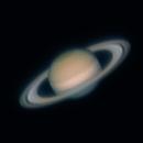 Saturn 18.07.2021. Height above the horizon is 12 degrees.,                                Sergei Sankov