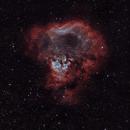 NGC 7822 Diffuse Nebula 20200921 21360s HOO 03.9.8,                                Allan Alaoui
