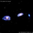 ngc3165 ngc3166 ngc3169 galassie nel sestante                          distanza 70 milioni A.L:,                                Carlo Colombo