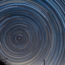 Star Trails,                                Dan Goelling