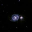 M51 - Whirlpool Galaxy,                                Jason Hansen