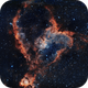 IC 1806 - Cuore bicolor,                                Peppe.ct