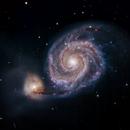 M51 Whirlpool Galaxy,                                Alex Dean