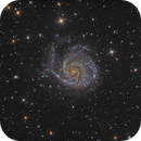 M101 The Pinwheel Galaxy,                                Camille COLOMB