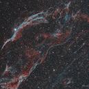 Western Veil Nebula (NGC 6960),                                David Schlaudt