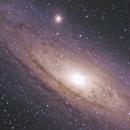 M31 - core details, only 45mins of tot. integr.,                                Gianni Cerrato