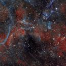 Inside the Vela Supernova Remnant,                                SCObservatory