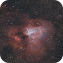 M17 The Swan Nebula,                                Chuck Manges