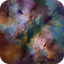 The Butterfly Nebula - Tone Map,                                Eric Coles (coles44)