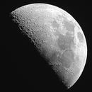 First Quarter Moon,                                Roger Gifkins