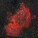 IC1848, the Soul Nebula,                                Oscar Meca