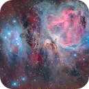 M42 - The Great Orion Nebula - LHRGB,                                Alessio Pariani