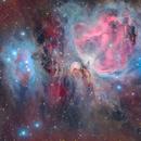 M42 - The Great Orion Nebula - LHRGB,                                Alessio Pariani