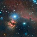 Horsehead and Flame - Barnard 33,                                Torben