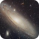 Messier 31 - The Andromeda Galaxy,                                Arun H.