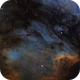 IC5070 - Pelican Nebula in SHO,                                Ciaran