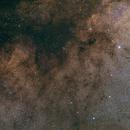 Quick view on Milky Way around M11,                                Björn Hoffmann