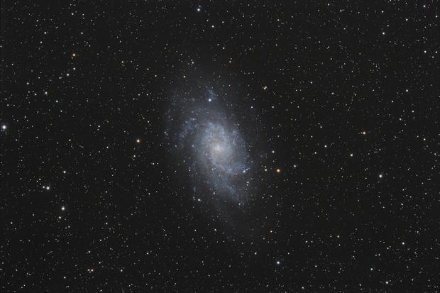 [Gal] M33 (Galaxie du Triangle) @Calern,                                Raypulsif