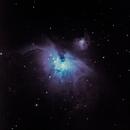 Orion Nebula,                                rcelectron
