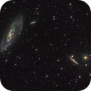 Messier 106,                                Miles Zhou