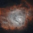 M8 - Lagoon Nebula Bicolor,                                Mike Hislope