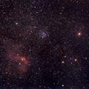 M52 & Bubble Nebula,                                Stefano Franzoni