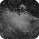 The Eagle Nebula (M16) in H-alpha,                                JDJ