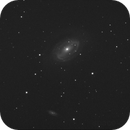 NGC4725 with asteroid (164) Eva,                                Станция Албирео
