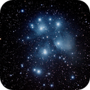The Pleiades or seven sisters, M45,                                palaback