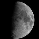 27th November- 62% Illuminated Waxing Gibbous Moon.,                                Stephen Jennette