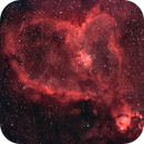 IC 1805 Ha OIII just stacked and dynamic range optimised,                                Atto