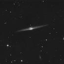 Edge-on galaxy NGC 4565,                                apricot