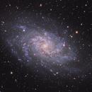M33 Triangulum galaxy HaRVB,                                Jocelyn Podmilsak