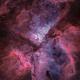Eta Carina Nebula - HOO,                                Janco