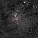 Carina Nebula,                                Flint