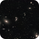 Markarian's Chain of Galaxies in the VIrgo Cluster,                                Paul Baker