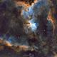 IC1805 Heart Nebula (SHO),                                Michael Caller