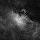 M16 Eagle Nebula in Ha,                                equinoxx