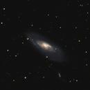M106 Intermediate Spiral Galaxy in Canes Venatici 20210422 18960s HaRGB 01.5.3,                                Allan Alaoui