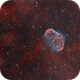 NGC6888 and Soap Bubble,                                Tayson