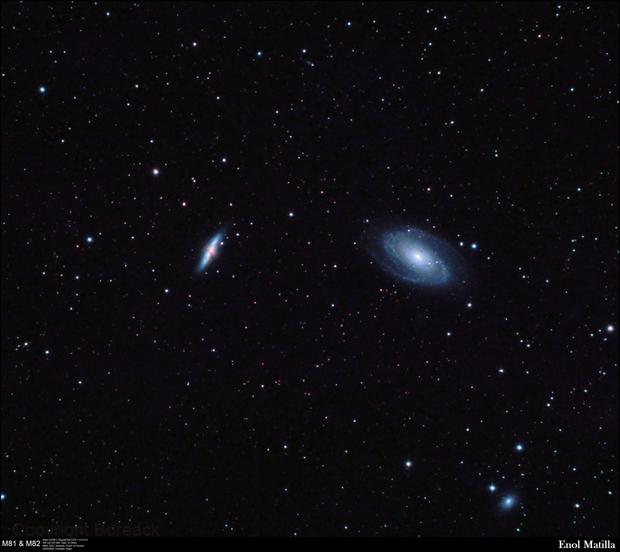 M81 & M82,                                Enol Matilla
