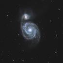 Whirlpool Galaxy,                                Damien Cannane