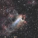 M17, Nebulosa Omega,                                Roberto Ferrero