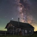 Milkyway + Saturn & Jupiter,                                Gernot_Obertaxer