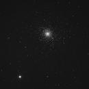 NGC 5904 full frame, lum only,                                Ron