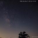 Milky Way May 15, 2021 Single Shot,                                Van H. McComas
