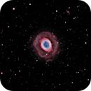 Ring Nebula - M57 HA/RGB,                                Jim Matzger