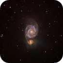 M51  (The Whirlpool Galaxy) First try,                                Philippe Oros
